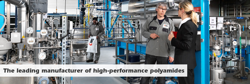 EMS-GRIVORY The leading manufacturer of high-performance polyamides